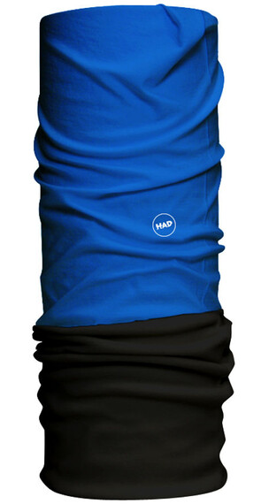HAD Fleece sjaal blauw/zwart